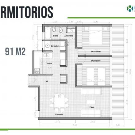R.VI Plano 2 Dormitorios